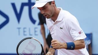 Das erste Einzel seit dem in 4 Sätzen verlorenen Wimbledon-Halbfinal gegen Novak Djokovic gewann Roberto Bautista Agut gegen Jaume Munar in zwei Sätzen