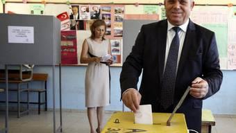 Der voraussichtliche Wahlsieger Özkan Yorgancioglu