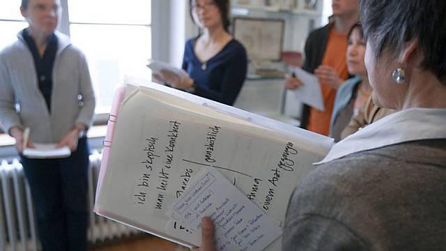 Sprachkurs als Integrationshilfe