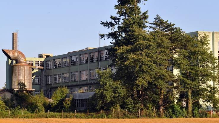 Dulliken: In der alten Hugi-Schuhfabrik entstehen Lofts. (Bild: Bruno Kissling)