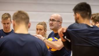 Nach einem halben Jahr endet die Zusammenarbeit von Volley Schönenwerd und Trainer Bogdan Kotnik.