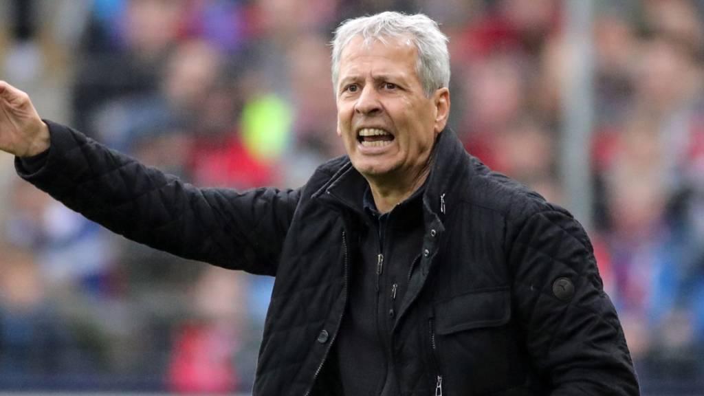 Lucien Favre und Dortmund sind unter Zugzwang
