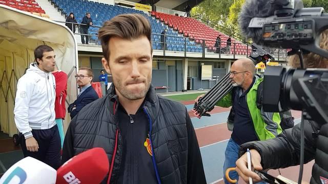 FCB-Trainer Raphael Wicky zum Cup-Spiel gegen Chiasso.
