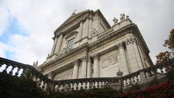 Was auf Stein gebaut ist, bewegt sich nur langsam: Die St. Ursenkathedrale in Solothurn, Weihkirche des Bistums Basel.