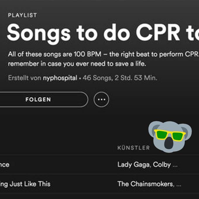 Diese Spotify-Playlist könnte Leben retten