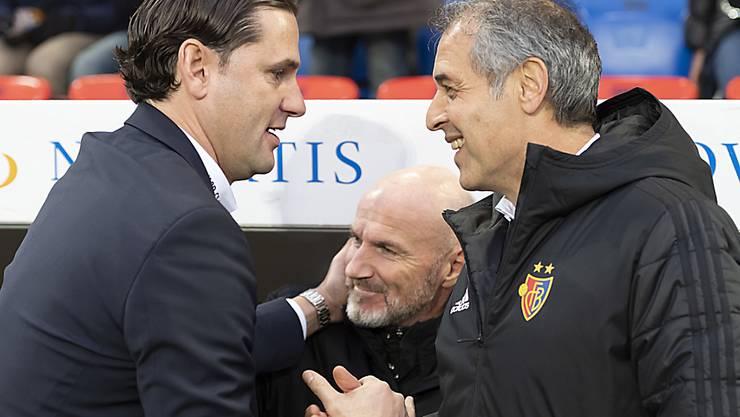 In Basel waren sie freundlich zueinander, aber Gerardo Seoane und Marcel Koller könnten sich nächste Saison ein hartes Duell liefern