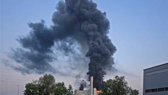 Grossbrand in der KVA Oftringen
