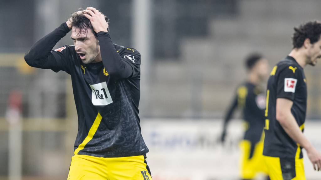 Borussia Dortmund mit einer weiteren Niederlage