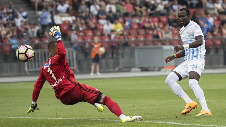 Zürichs Raphael Dwamena schoss das 3:0-Endresultat.