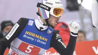 Killian Peier springt an der Vierschanzentournee in Innsbruck mitten in die Weltelite