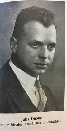 War Fussballer und Leichtathlet, Buchautor und von 1946 bis 1959 FCB-Präsident (Rekord!). Unter ihm holte der FCB den 1. Meistertitel.