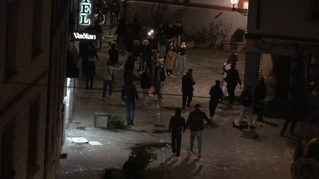 St. Gallen: Heftige Krawalle nach illegaler Party