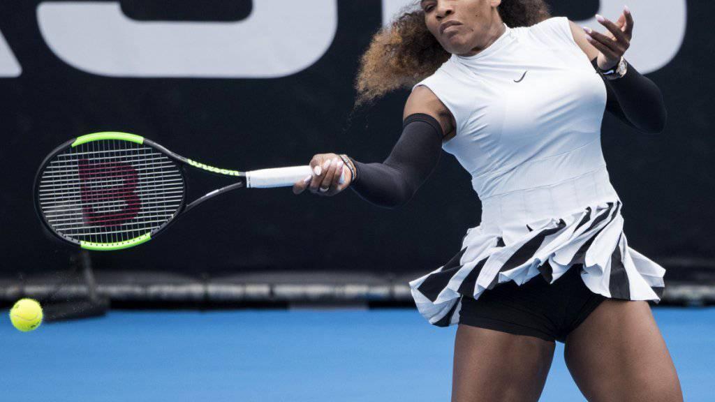 Serena Williams ist mit einem Sieg auf die WTA-Tour zurückgekehrt