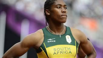 Mann oder Frau? Ob die südafrikanische Läuferin Caster Semenya wirklich intersexuell ist, wurde nie bekannt gegeben. Keystone/Archiv