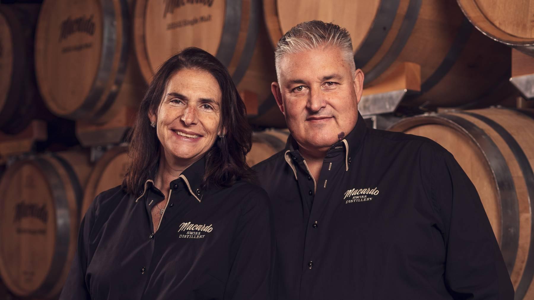 Das Inhaber-Paar Martina und Andy Bössow.