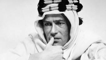 "Die Rolle des ""Lawrence of Arabia"" hatte ihn weltberühmt gemacht: Schauspieler Peter O'Toole (Archiv)"
