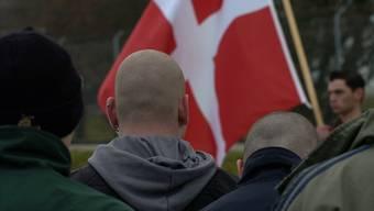 Eine Veranstaltung der Pnos, der Partei national orientierter Schweizer. (Archivbild)