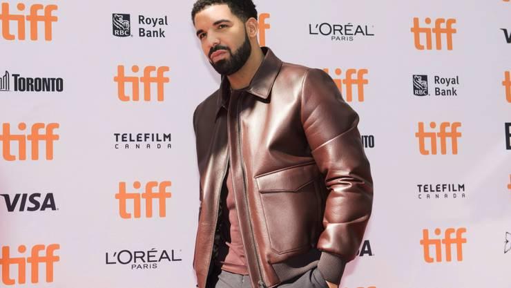 Über 300 Downloads innert 24 Stunden: Der kanadische Rapper Drake landete einen neuen Streaming-Rekord. (Archivbild)