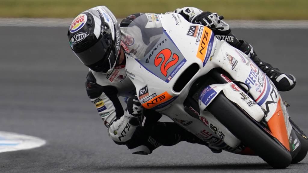 Auf Phillip Island im Training der schnellste Schweizer: Jesko Raffin auf seiner NTS