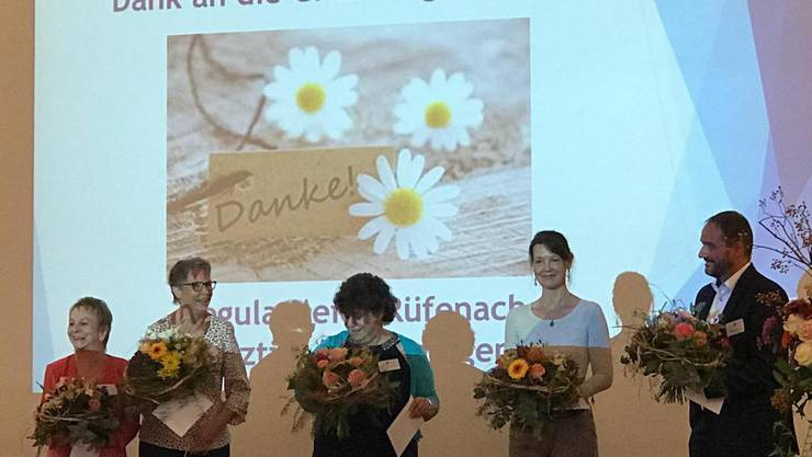 Dank an die Gründungsmitglieder anlässlich der Jubiläums-Feier 10 Jahre Hospizgruppe Solothurn