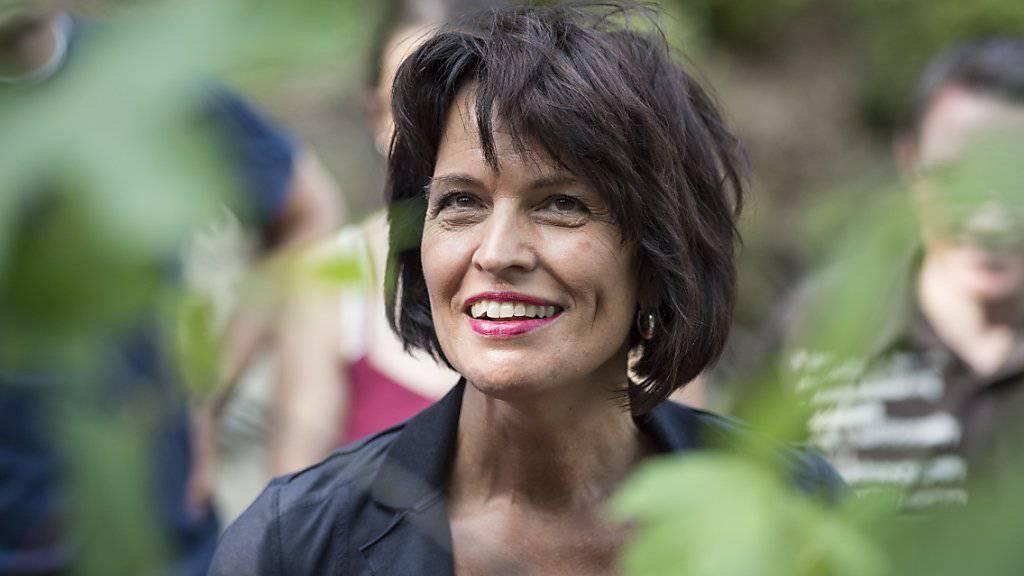 Bundesrätin Doris Leuthard gibt Stromspartipps. (Archivbild)