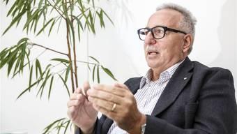 Zeitzeuge und langjähriger Akteur: Der Gerlafinger Herbert Wüthrich hat die Solothurner SVP mit aufgebaut. Hanspeter Bärtschi