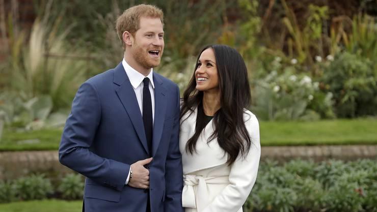 Prinz Harry und Meghan Markle gaben Ende November 2017 ihre Verlobung bekannt.