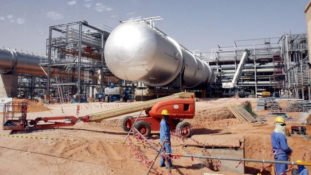 Das Khurais Ölfeld, 160 Kilometer von Riad entfernt. Auf eine Pumpstation an der Ost-West-Pipeline wurde nach saudischen Angaben am Dienstag ein Angriff verübt.