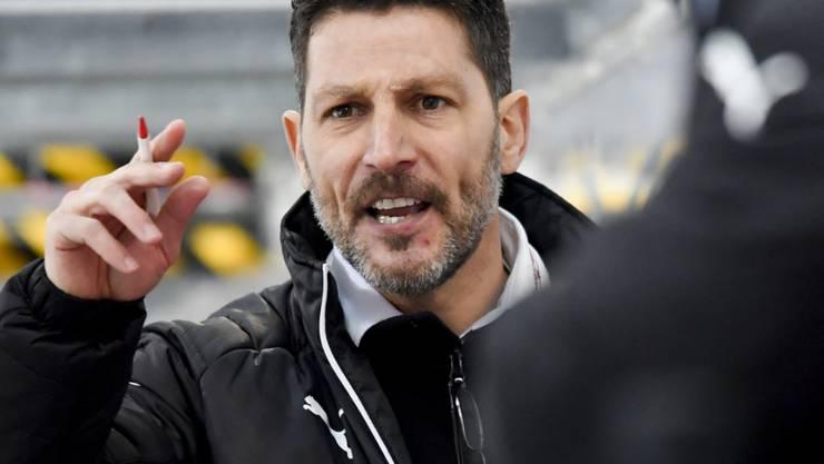 Oltens Trainer Chris Bartolone führte sein Team zu einem Pflichtsieg