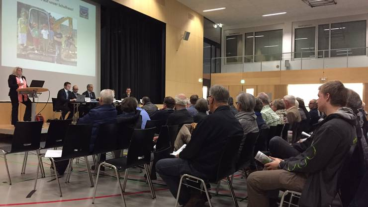 152 Stimmberechtigte waren am Freitagabend an der Wintergmeind anwesend.