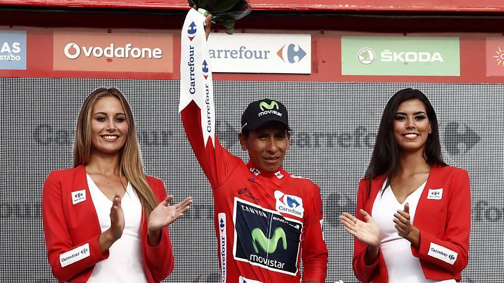 Nairo Quintana bleibt Leader, aber Chris Froome bleibt ihm im Nacken