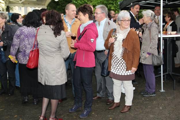 Unter den Gästen auch Astrid Barben, Vizeammann Turgi