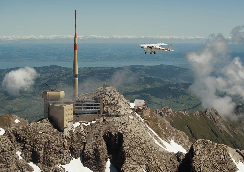 Die Ostschweizer Piloten verlassen ihren bekannten Flughimmel Richtung Mittelmeer.