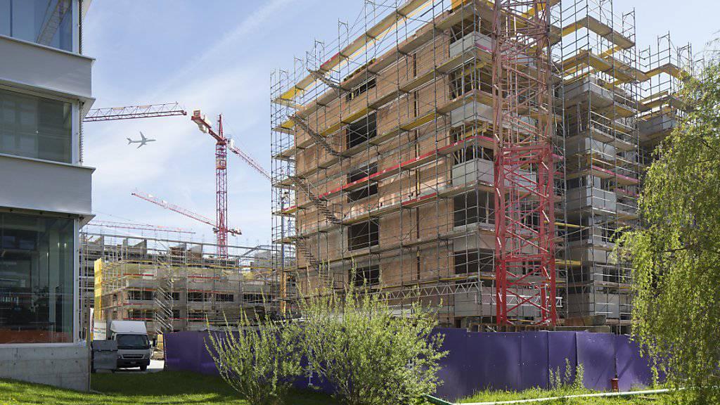 Die Preise für Neubauwohnungen sind stabil geblieben. (Symbolbild)