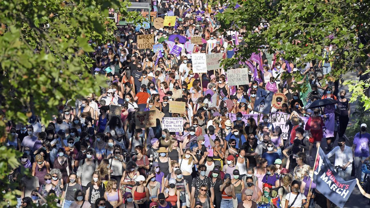 Frauenstreik Zürich
