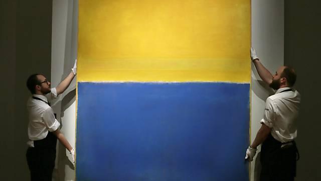 Mark Rothkos Werke erzielten Rekordpreise bei Kunstauktionen