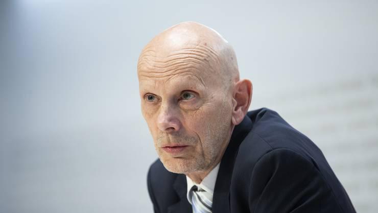 Daniel Koch bei einer Medienkonferenz in Bern.