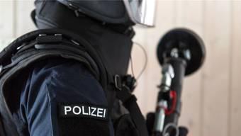 Drei Elitepolizisten müssen sich die Frage gefallen lassen, ob sie vor sieben Jahren richtig gehandelt haben: Argus-Angehöriger während einer Übung.