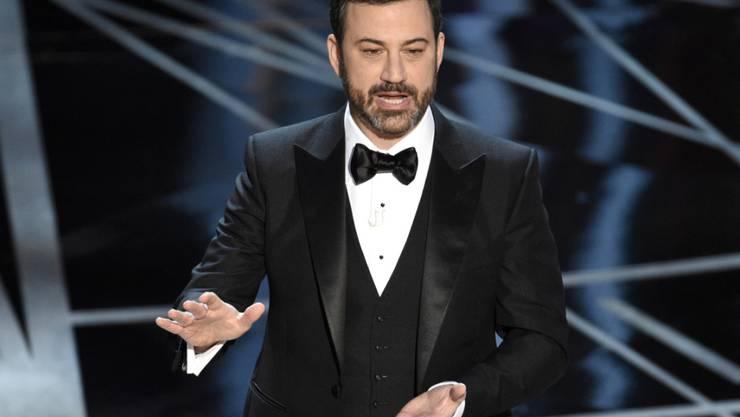 Der US-Komiker Jimmy Kimmel wird auch die 90. Oscar-Verleihung im kommenden Jahr moderieren. (Archivbild)