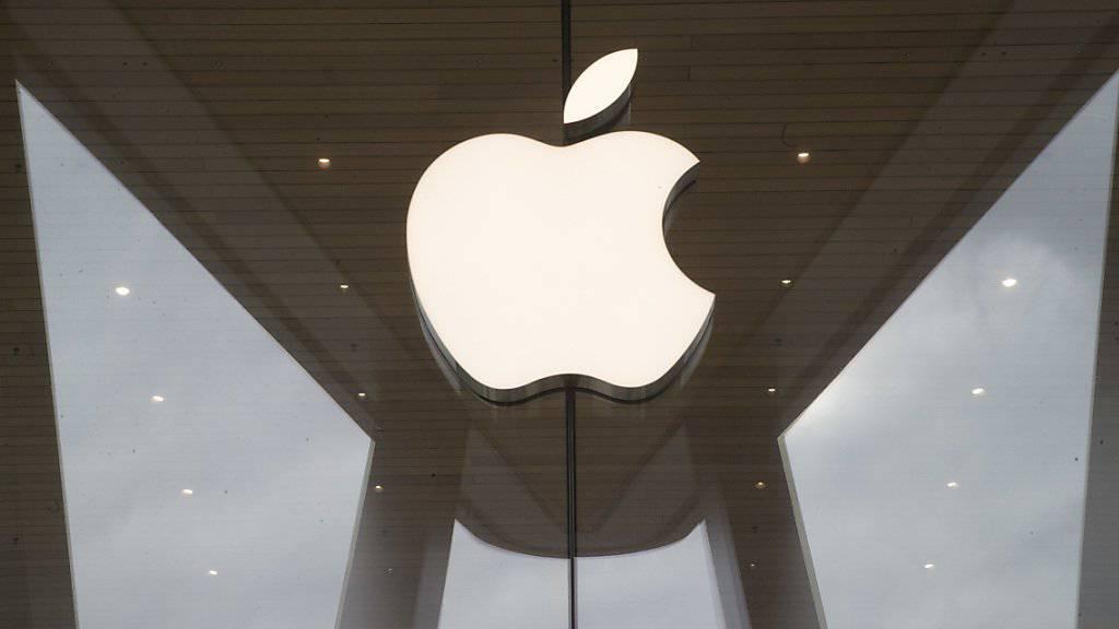 Spekulationen über den Video-Dienst von Apple haben der Aktie vor dem Wochenende zu einem neuen Höhenflug verholfen. (Archiv)