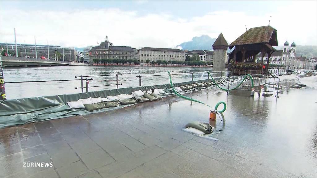 Hochwassersituation in der Schweiz verschärft sich weiter