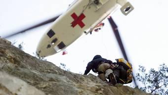 Am Sonntagnachmittag verunfallte ein Kletterer an der Balmflue. (Symbolbild)