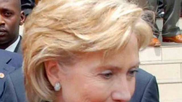 Hillary Clinton mit neuer Frisur