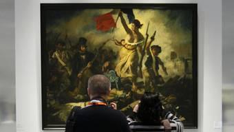"""""""Die Freiheit führt das Volk"""" wurde beschmiert (Archiv)"""