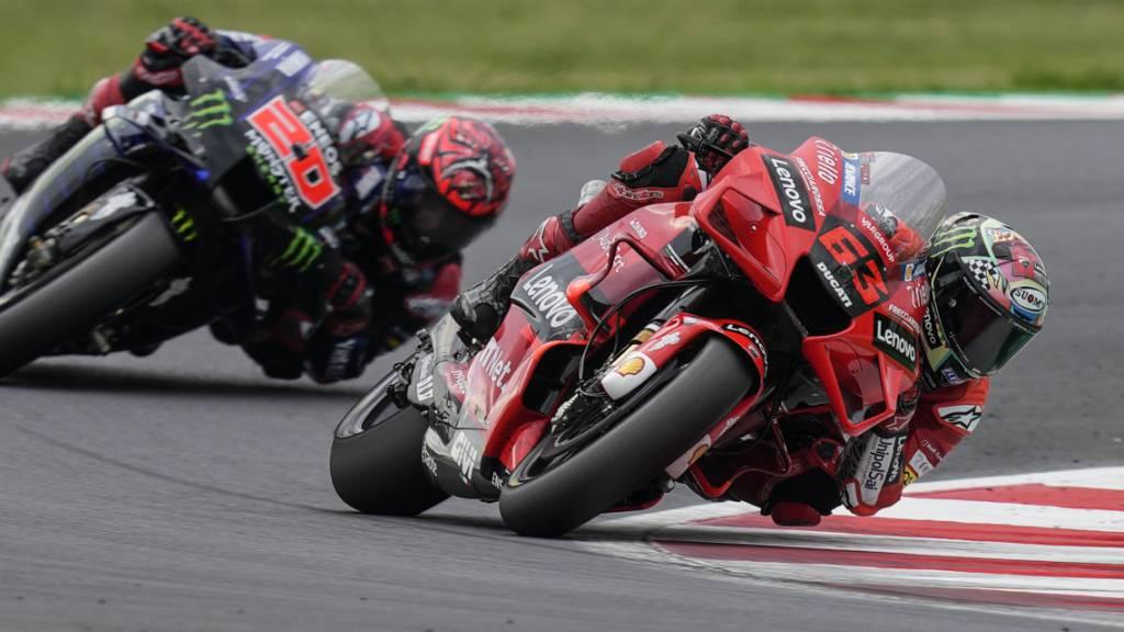 Bagnaia doppelt mit zweitem MotoGP-Sieg nach