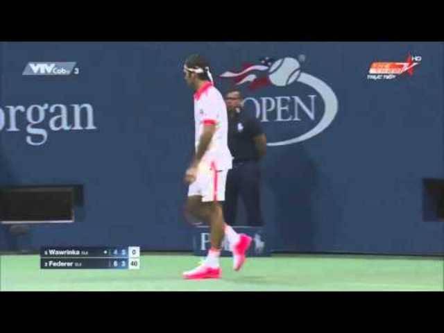 Die Highlights des Halbfinales der US Open 2015 in zehn Minuten.