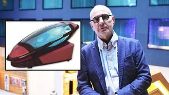 Philip Nitschke (70) will mit seiner Suizidmaschine «Sarco» eine Alternative zur herkömmlichen Sterbehilfe bieten.