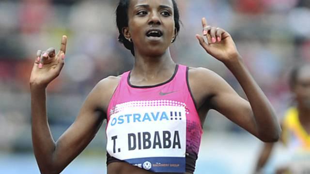 10'000-Meter-Läuferin Tirunesh Dibaba.