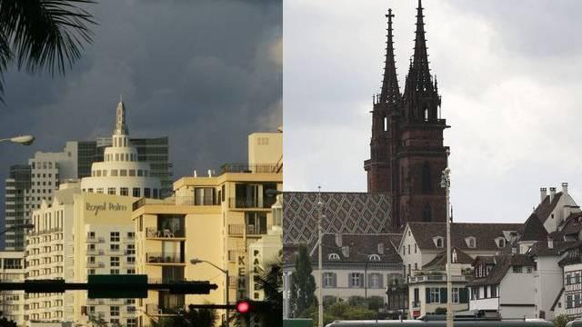 Gehen Städtepartnerschaft ein: Miami Beach und Basel