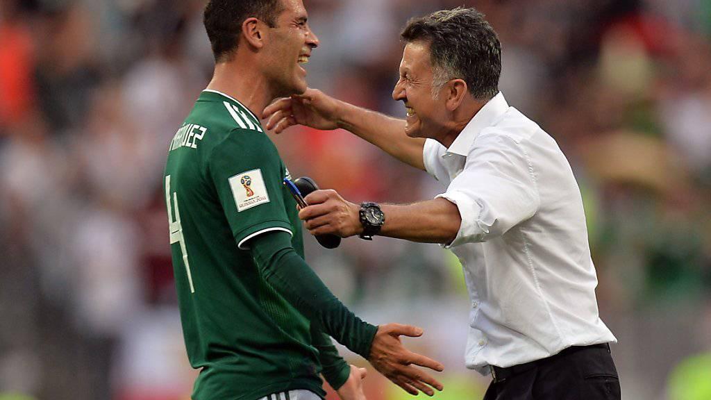Mit seinem Einsatz beim Auftaktsieg gegen Deutschland nahm der Mexikaner Rafael Marquez bereits an seiner fünften WM-Endrunde teil